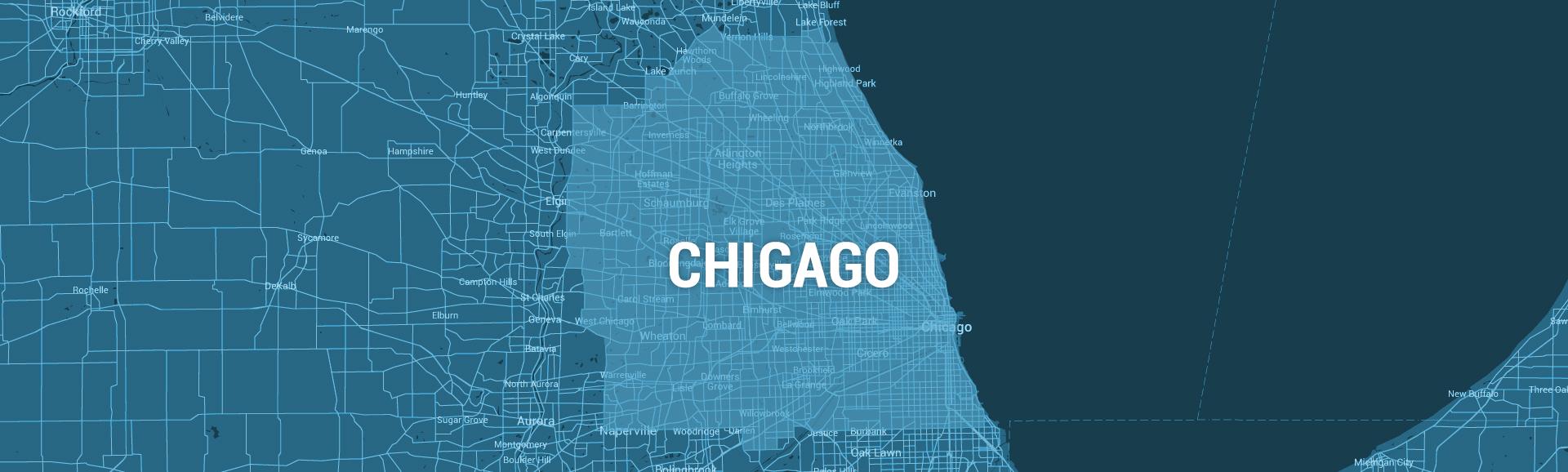 Capxicom Cab Service Around The City Of Chicago - Chicago map app